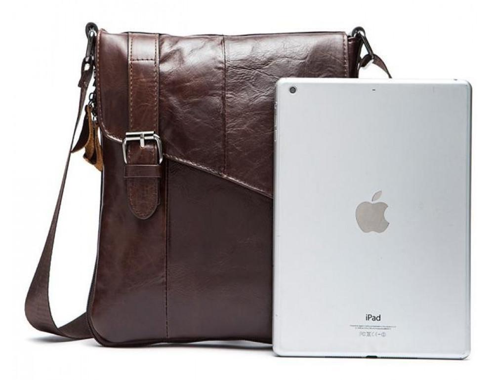 Чоловіча шкіряна сумка-месенджер Bexhill Bx9035C - Фотографія № 4