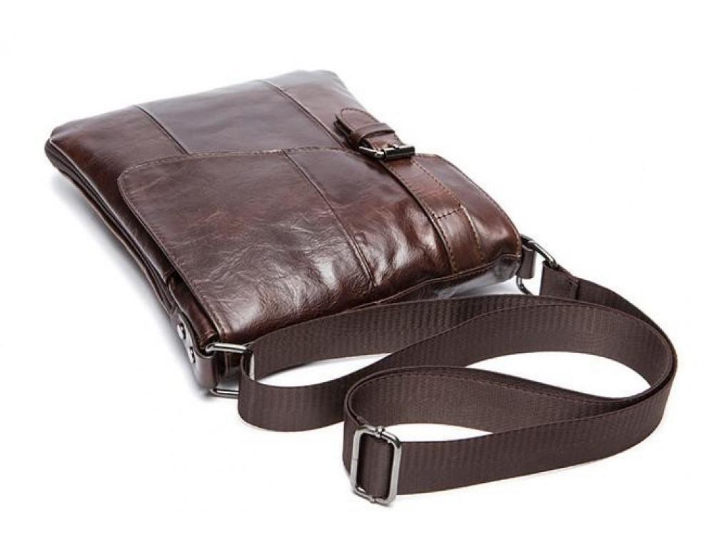 Чоловіча шкіряна сумка-месенджер Bexhill Bx9035C - Фотографія № 6