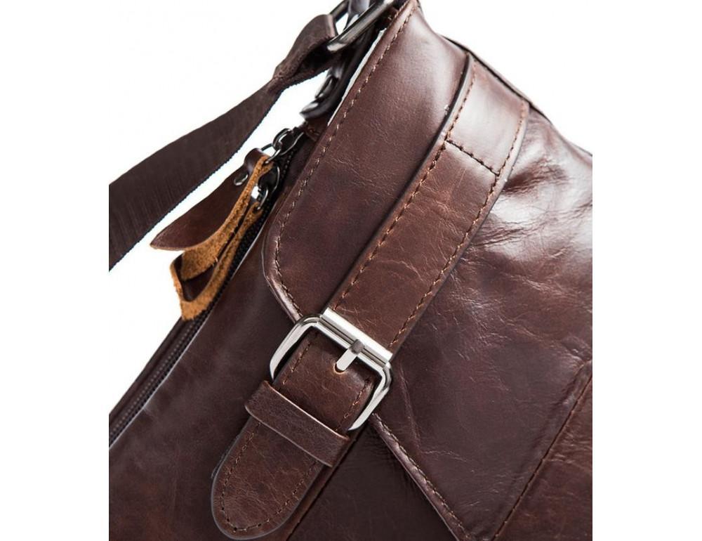 Чоловіча шкіряна сумка-месенджер Bexhill Bx9035C - Фотографія № 7