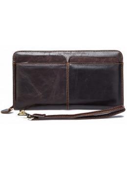 Мужской кожаный клатч Bexhill Bx9020C коричневый