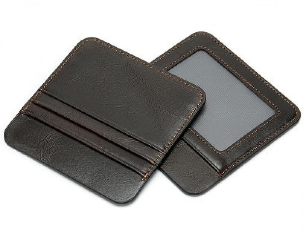 Мужской кожаный клатч Bexhill Bx9020A Чёрный - Фото № 3