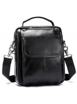Мужская сумка через плечо Bexhill Bx9024C Тёмно-коричневая