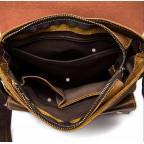 Светло-коричневая кожаная сумка через плечо Bexhill BX9040C - Фото № 106