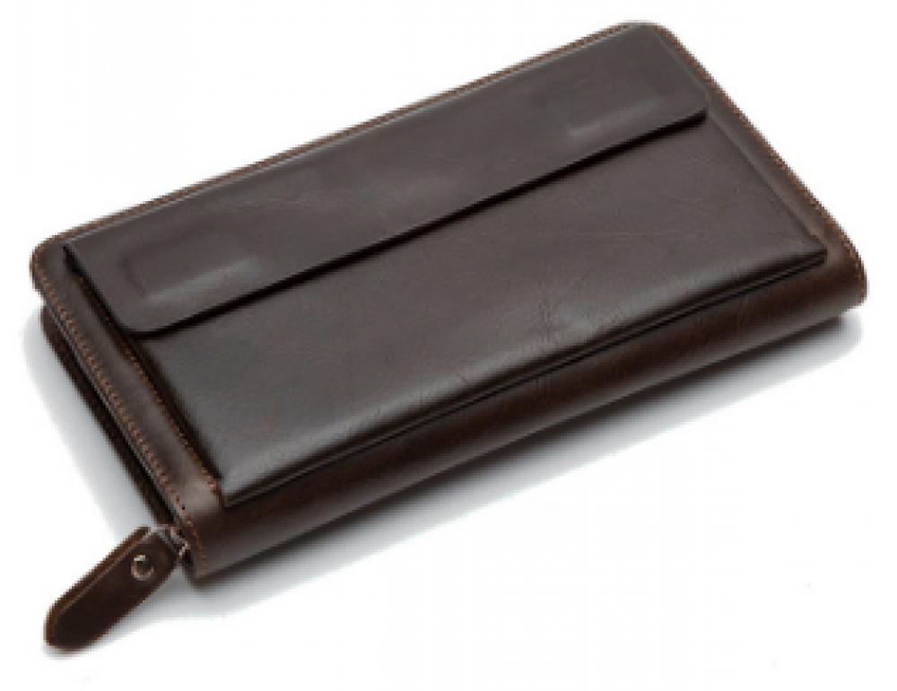 Коричневый мужской кожаный клатч Bexhill Bx9069C