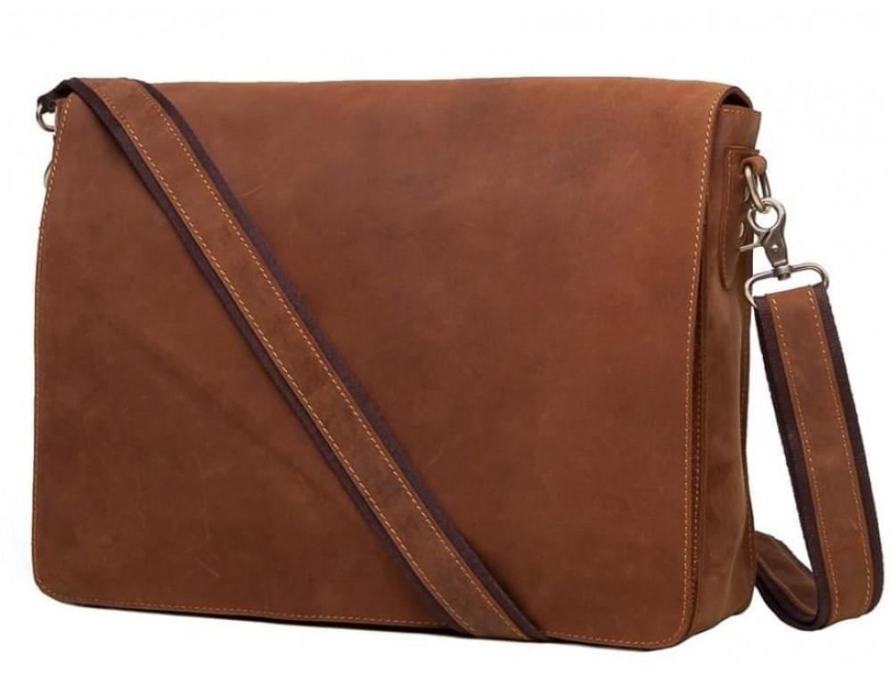 Чоловіча шкіряна сумка-месенджер BEXHILL BXA603R коричнева