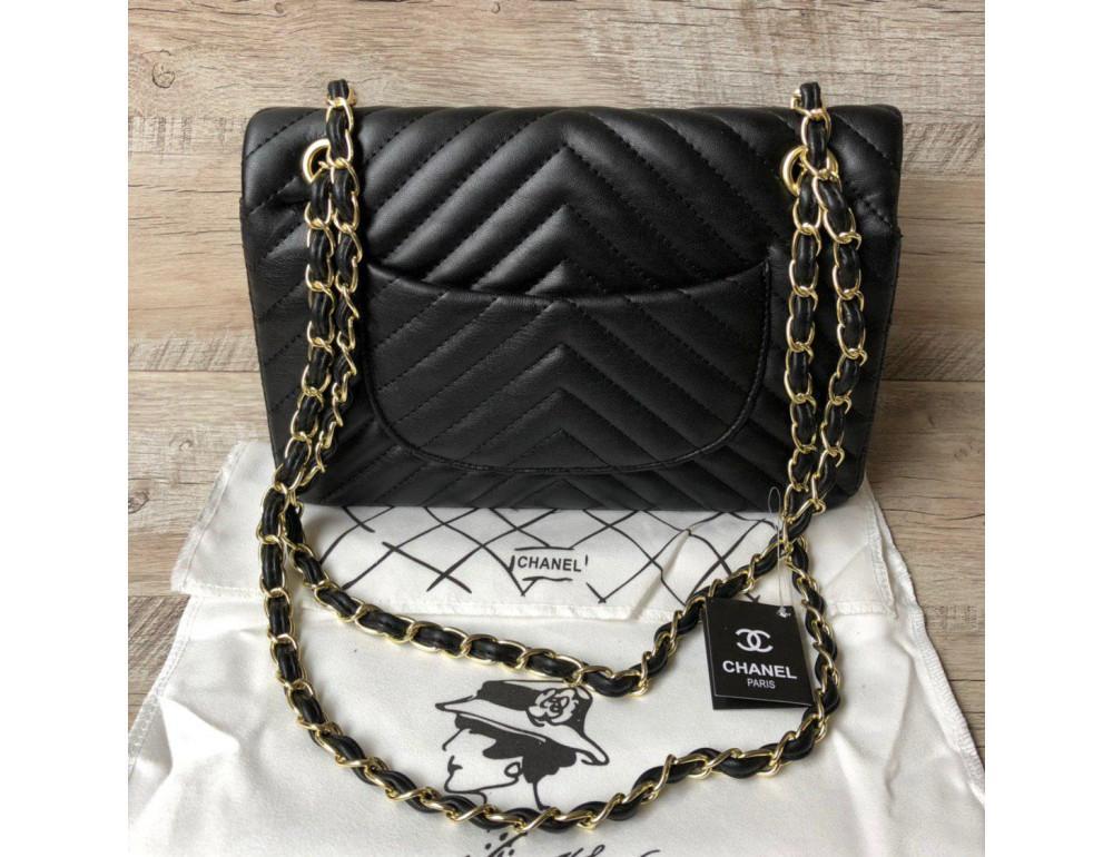 Сумка Chanel CH-5507A Чёрная - Фото № 2