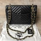 Сумка Chanel CH-5507A Чёрная - Фото № 101