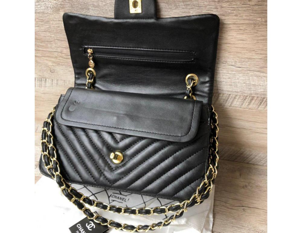 Сумка Chanel CH-5507A Чёрная - Фото № 3