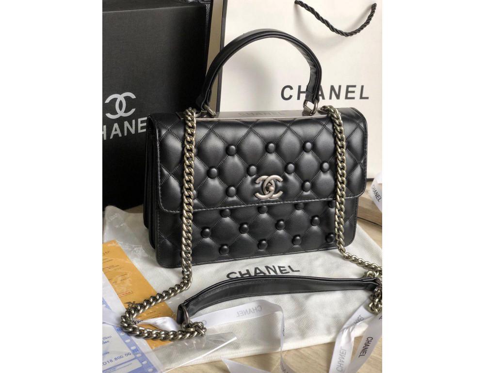 Жіноча сумка Chanel CH-5511A Чорна
