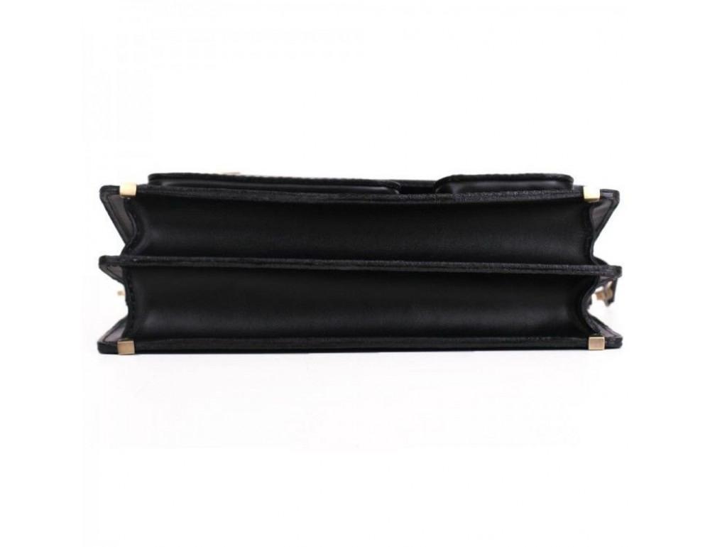 Черный портфель мужской Manufatto СПС-2 - Фото № 4