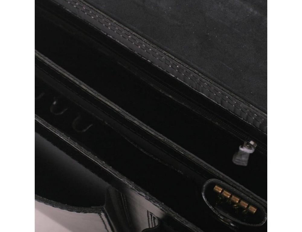 Черный портфель мужской Manufatto СПС-2 - Фото № 5