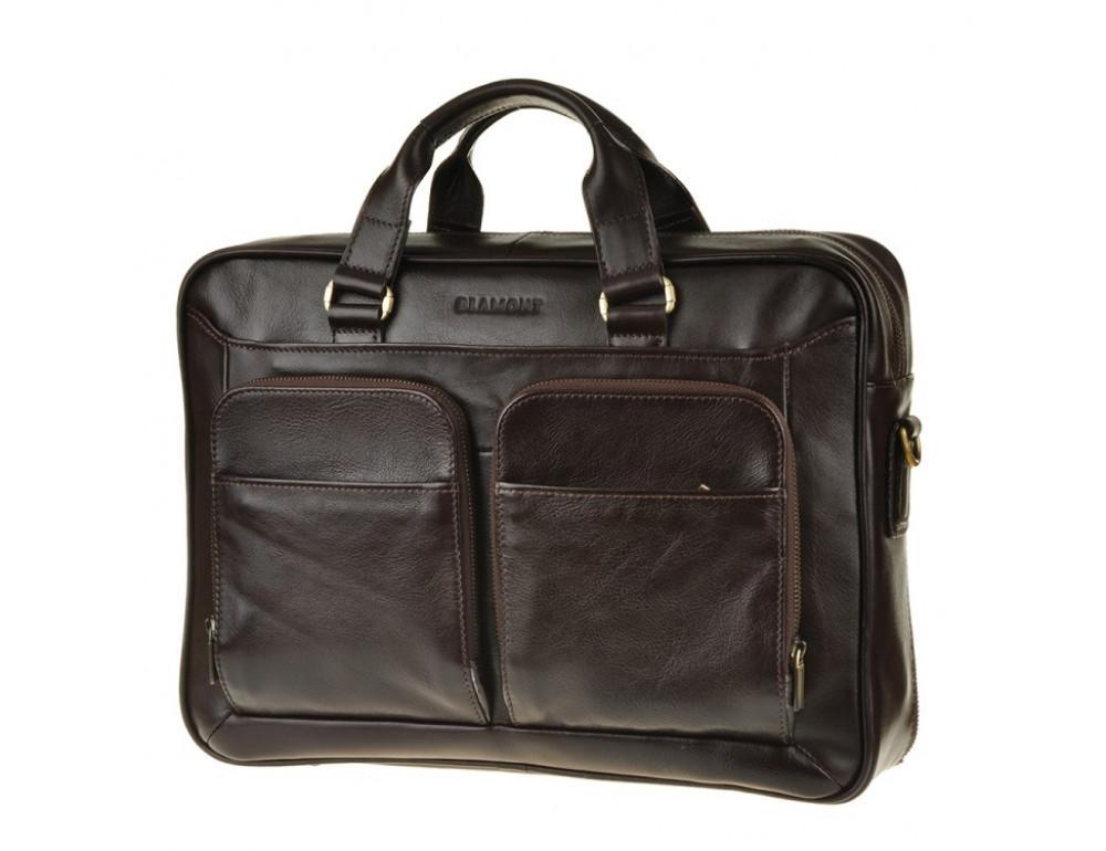 Мужская кожаная сумка Blamont Bn035C - Фото № 4