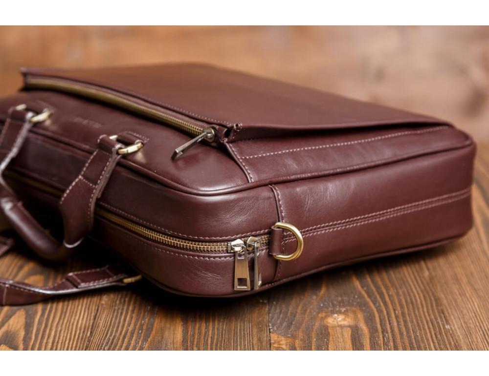 Чоловіча шкіряна сумка Blamont Bn056C - Фотографія № 4