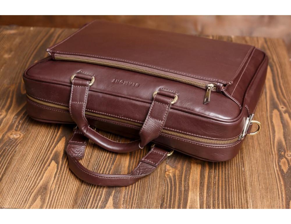 Чоловіча шкіряна сумка Blamont Bn056C - Фотографія № 5