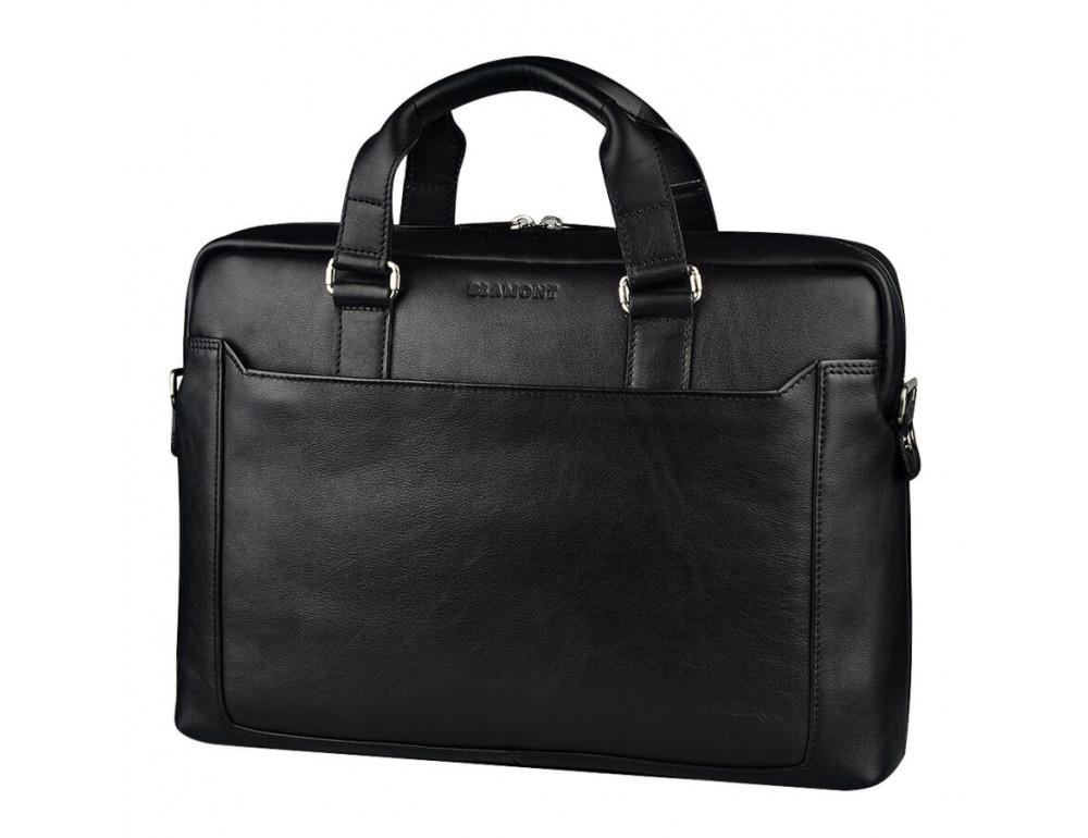 Мужская кожаная сумка Blamont Bn066A - Фото № 4