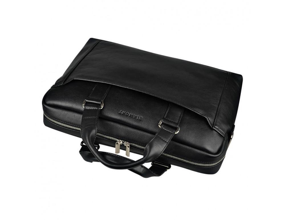 Мужская кожаная сумка Blamont Bn066A - Фото № 5