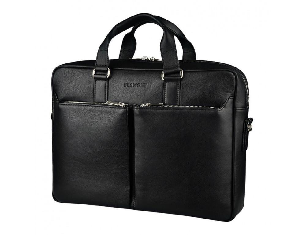 Вместительный мужской портфель Blamont Bn067A - Фото № 6