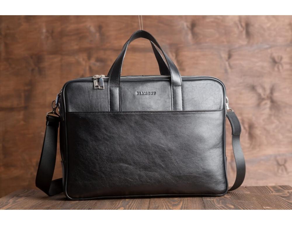 Мужская кожаная сумка Blamont Bn070A - Фото № 3