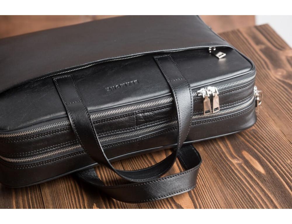 Мужская кожаная сумка Blamont Bn070A - Фото № 5