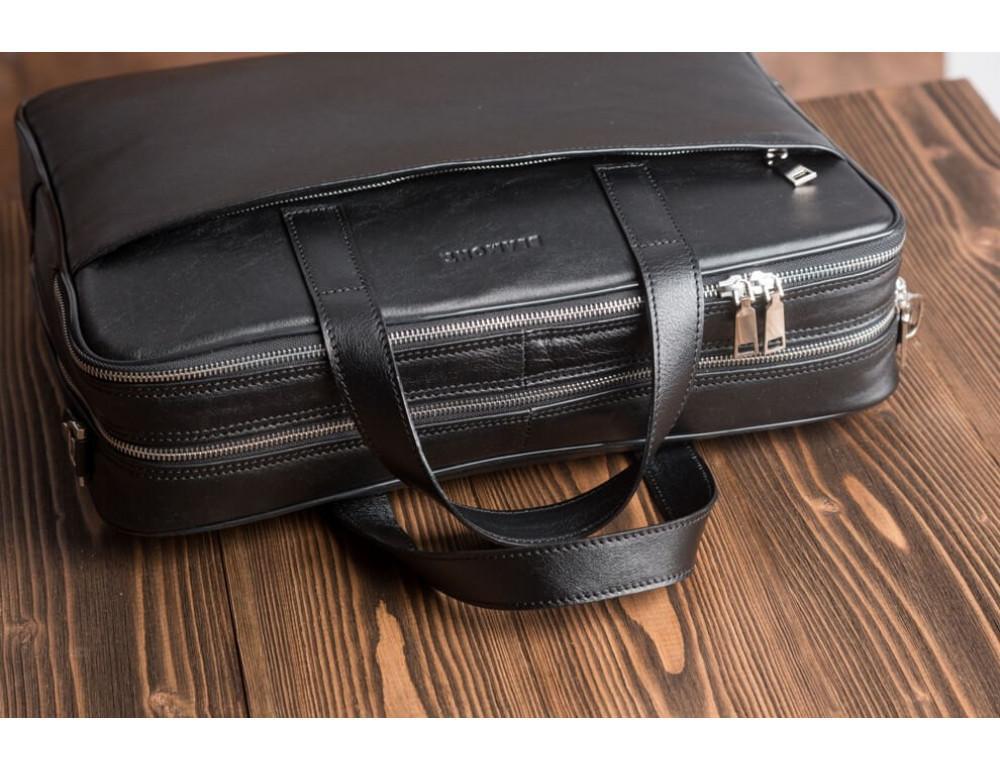 Мужская кожаная сумка Blamont Bn070A - Фото № 6