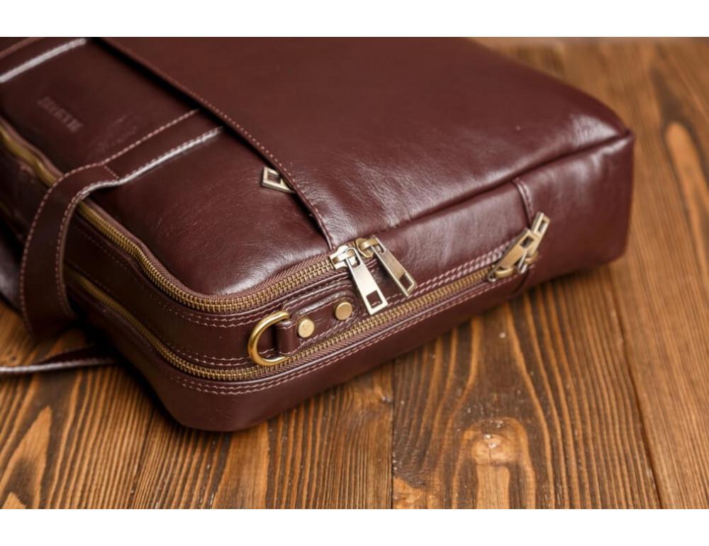 Мужская кожаная сумка Blamont Bn070C - Фото № 5
