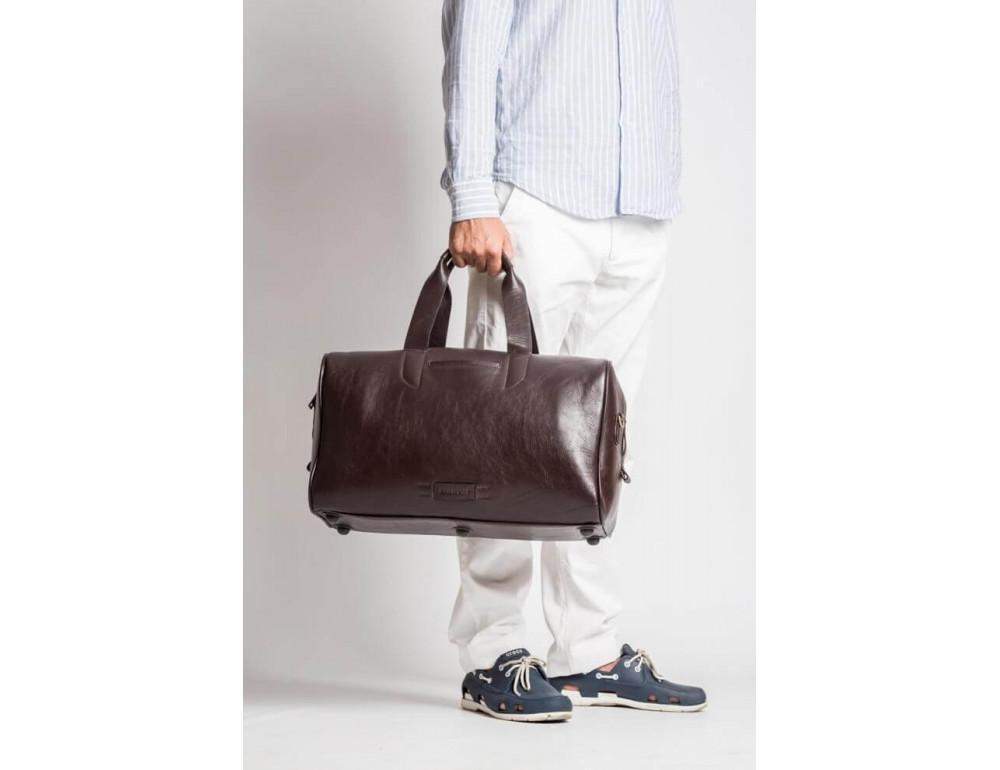 Кожаная дорожная сумка Blamont Bn073C - Фото № 9