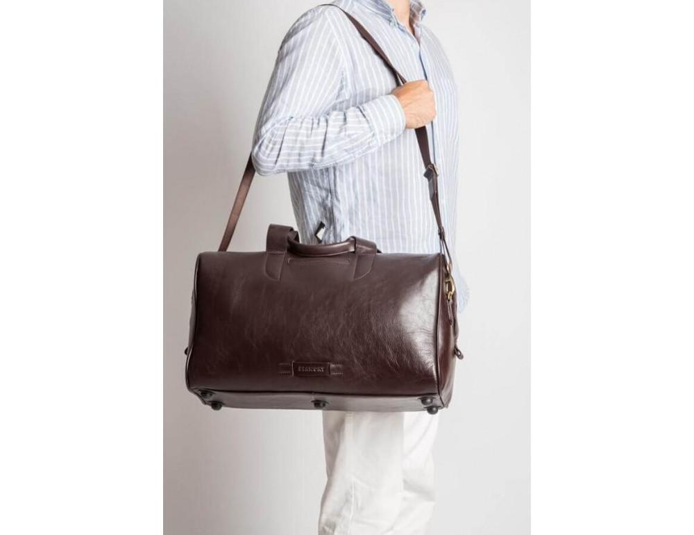 Кожаная дорожная сумка Blamont Bn073C - Фото № 10