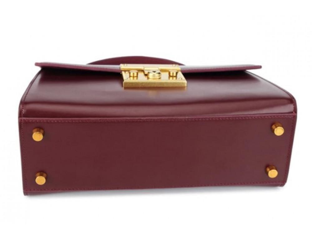 Кожаная сумка Grays Gr8400A Чёрная - Фото № 4