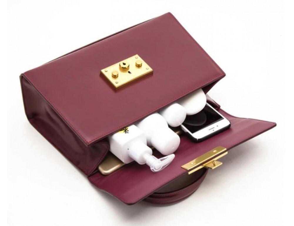 Кожаная сумка Grays Gr8400A Чёрная - Фото № 5