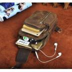 Мужская сумка-рюкзак Tiding Bag M37-XB9012C Коричневая - Фото № 108
