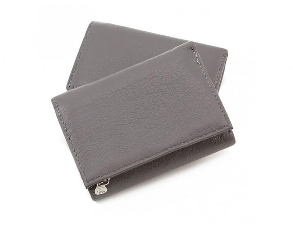 Женский кошелек Marco Coverna TRW-8580A-G серый - Фото № 5