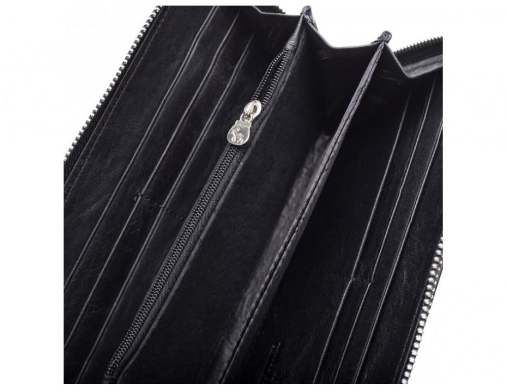 Чёрный кожаный кошелёк Marco Coverna MC7003-1 - Фото № 2