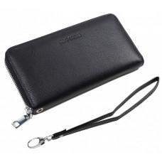 Чорний шкіряний гаманець Marco Coverna MC7003-1