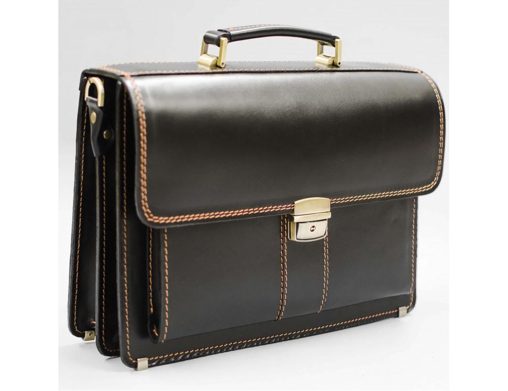 Кожаный мужской портфель премиум качества Manufatto РП-1 AC - Фото № 1