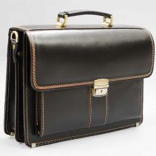 Кожаный мужской портфель премиум качества Manufatto РП-1 AC