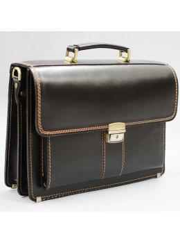 Шкіряний чоловічий портфель преміум якості Manufatto РП-1 AC