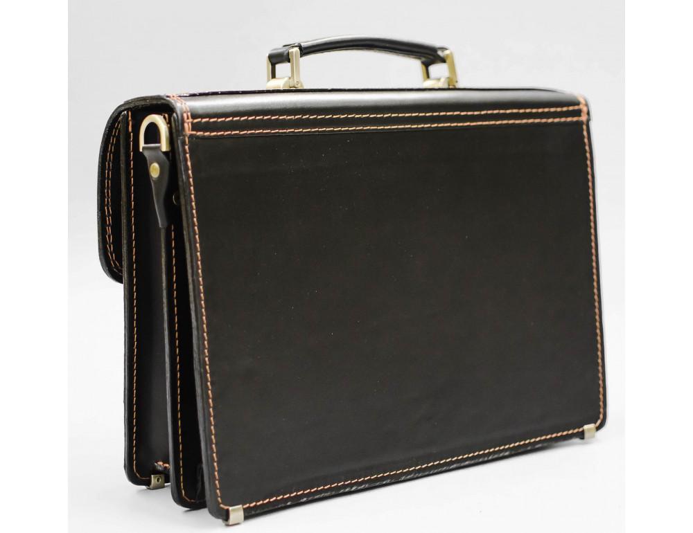 Кожаный мужской портфель премиум качества Manufatto РП-1 AC - Фото № 2