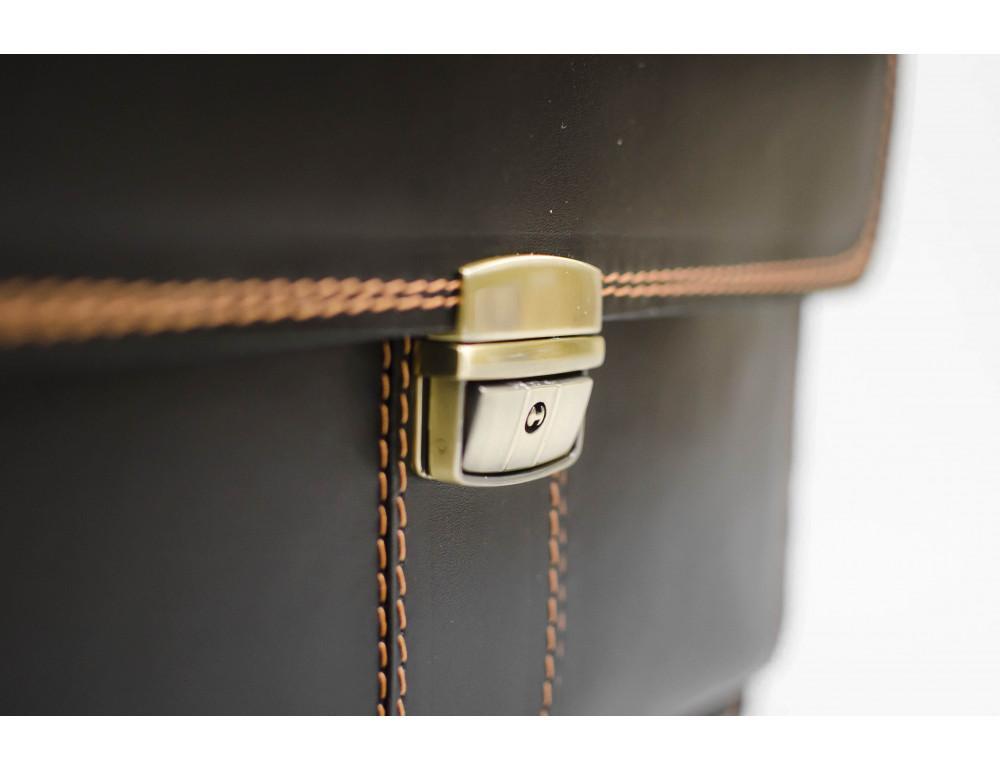 Кожаный мужской портфель премиум качества Manufatto РП-1 AC - Фото № 5