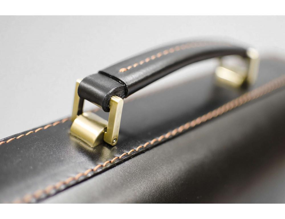 Кожаный мужской портфель премиум качества Manufatto РП-1 AC - Фото № 6