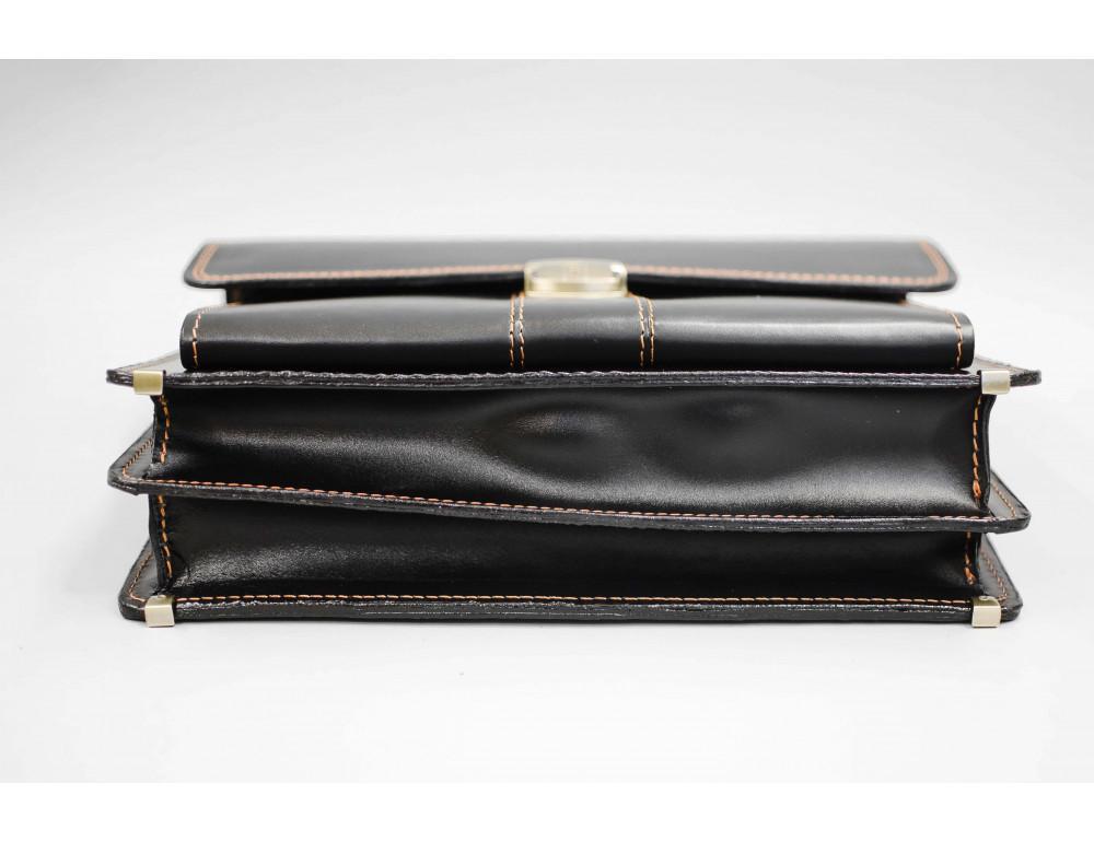 Кожаный мужской портфель премиум качества Manufatto РП-1 AC - Фото № 8