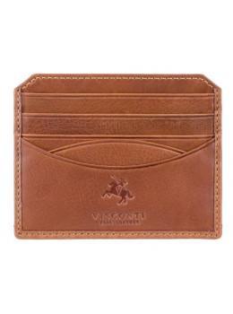 Коричневий Картхолдер - гаманець Visconti DRW25 TAN