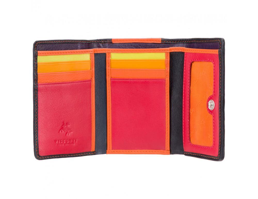 Цветочный кошелек женский Visconti DS81 BLK Paris - Фото № 2