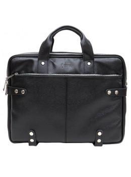 Чорна чоловіча шкіряна сумка TARWA fa-2408-4lx