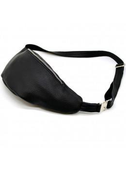 Чорна шкіряна сумка на пояс Tarwa fa-3006-4lx