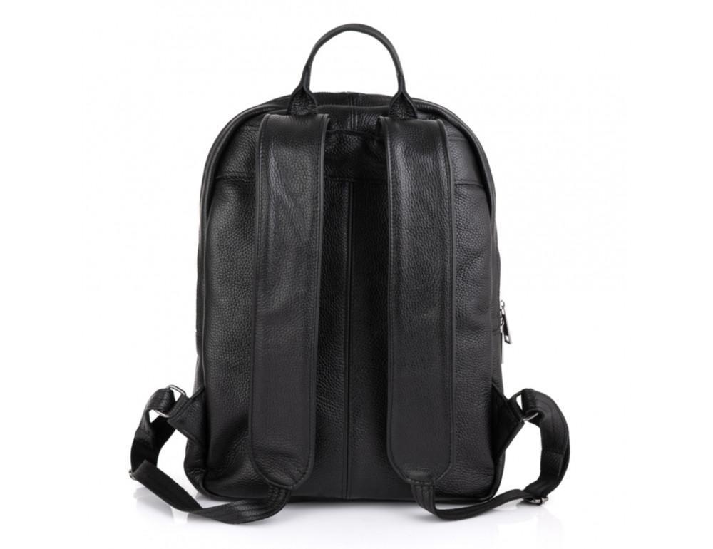 Чёрный мужской кожаный рюкзак TARWA FA-7273-3md - Фото № 2