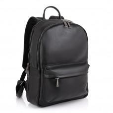 Чёрный мужской кожаный рюкзак TARWA FA-7273-3md