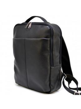 Чорний шкіряний чоловічий рюкзак TARWA FA-7280-3md