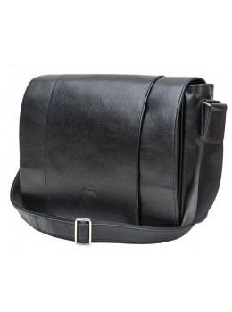 Чёрная мужская сумка из свинной кожи TARWA FA-7338-4lx