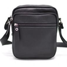 Чорна маленька чоловіча сумочка TARWA FA-8086-1md
