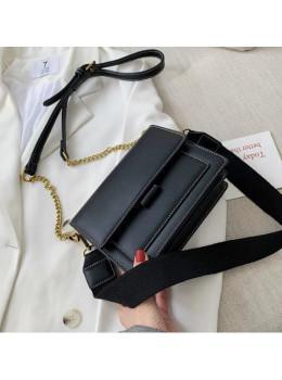 Маленькая повседневная сумочка Ramiel G-1A чёрная